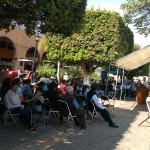 Las 15 unidades permitirán mecanizar 750 hectáreas de cultivos, detalla el subsecretario, Rubén Medina Niño
