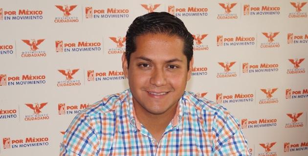 El dirigente de Movimiento Ciudadano dijo que el alcalde de Jacona sólo busca esconder sus actos de corrupción detrás el Partido Acción Nacional