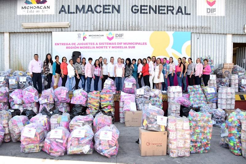 Además el organismo entregará obsequios en los 113 municipios de la entidad; este año habrá más de 22 mil regalos