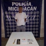 El detenido, identificado como José A., de 27 años de edad, fue puesto a disposición de la autoridad federal para que defina su situación jurídica por el posible delito de ataque a las vías de comunicación