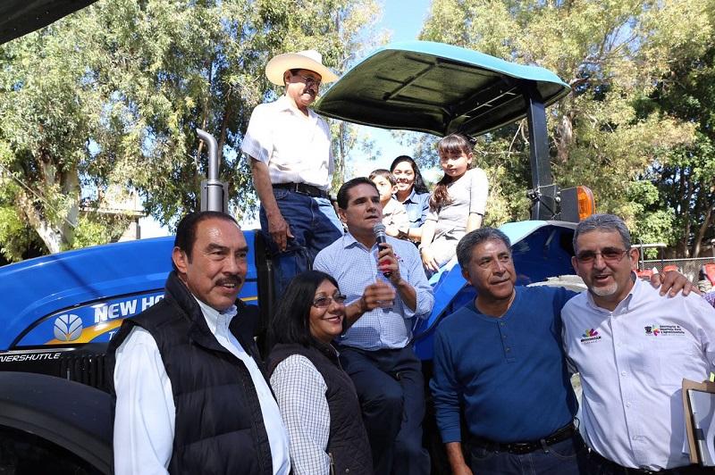 Ponemos los ojos en el campo, pues es uno de los sectores de la economía michoacana con mayor potencial de crecimiento, destaca