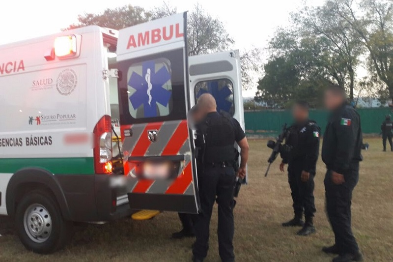 En la acción fue abatido uno de los presuntos criminales y resultaron heridos otro civil armado que lo acompañaba y un elemento de la Policía Michoacán