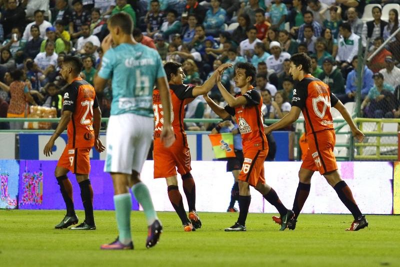 """Con este resultado, los """"Tuzos"""" sumaron sus primeros tres puntos del certamen, en tanto que los de Guanajuato se quedaron sin unidades"""