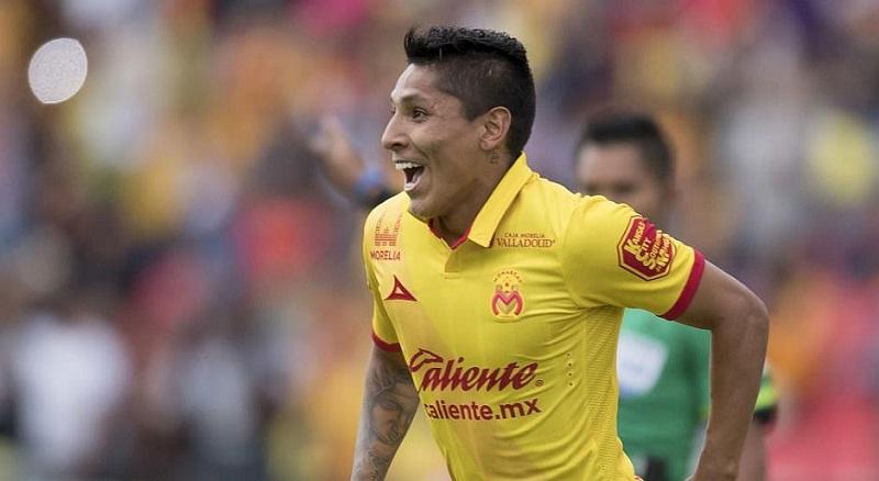 Ruidíaz anotó 11 goles en su primer torneo en México, proclamándose campeón de goleo junto con Dayro Moreno, delantero de Xolos