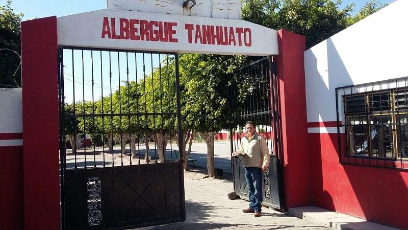 El visitador Regional de Zamora, Víctor Villanueva Hernández, supervisó los trabajos que se realizan en el lugar, los cuales están encaminados a mejorar la infraestructura física del albergue