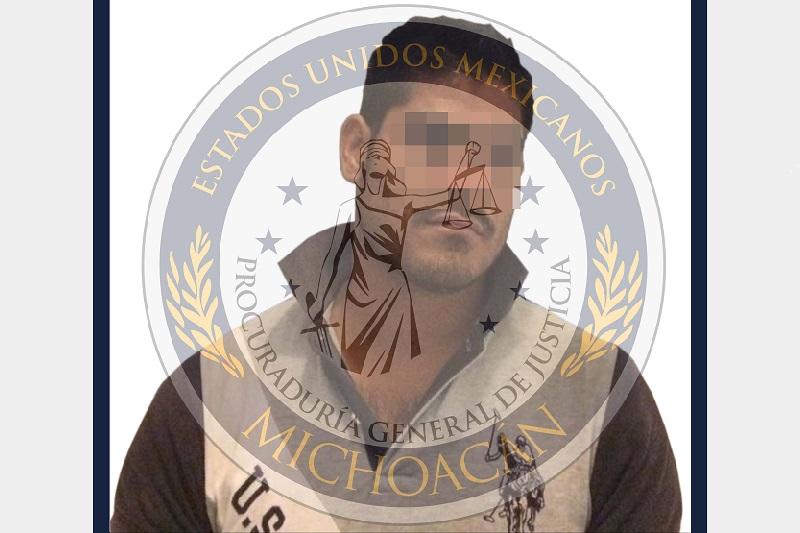 El inculpado fue trasladado a Morelia y presentado ante el juez que lo reclama, a espera de que resuelva su situación jurídica
