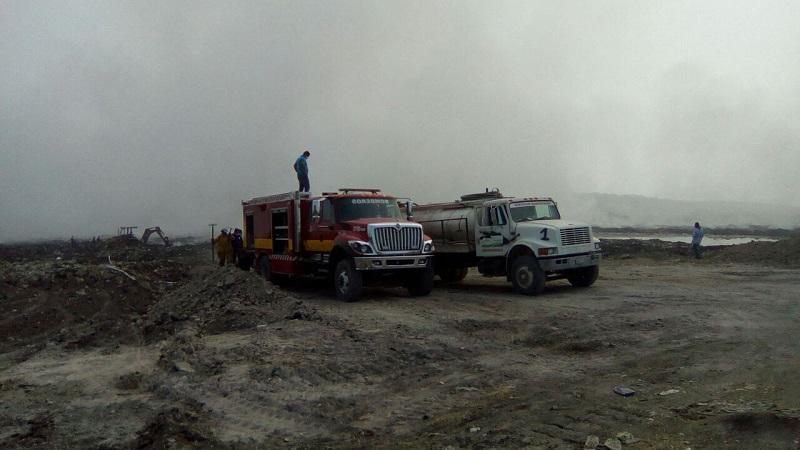 Desde la tarde de este miércoles, las corporaciones de bomberos de Morelia, Uruapan, Coalcomán, Ario de Rosales y del propio municipio atienden el incendio, mismo que debido al viento ha complicado la labor del personal de emergencias