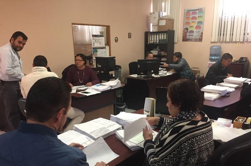Ya están pagando en la Universidad Michoacana
