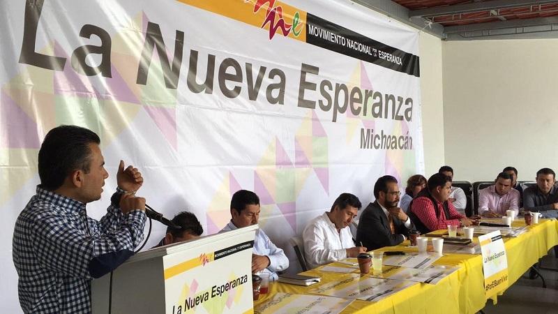 En la reunión se dieron cita los diputados locales Juan Pablo Puebla Arévalo y Nayeli Pedraza Huerta