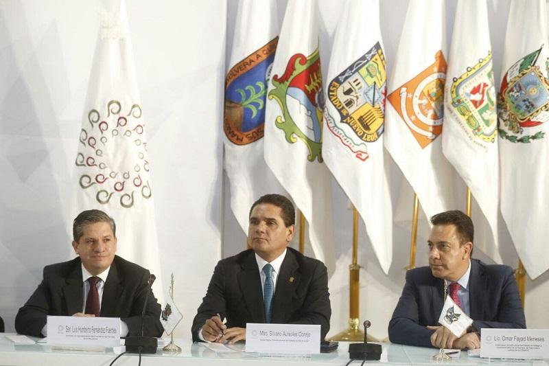 Silvano Aureoles confió en que, desde esta Comisión, se transitará por el camino adecuado para que la ciudadanía recupere su tranquilidad