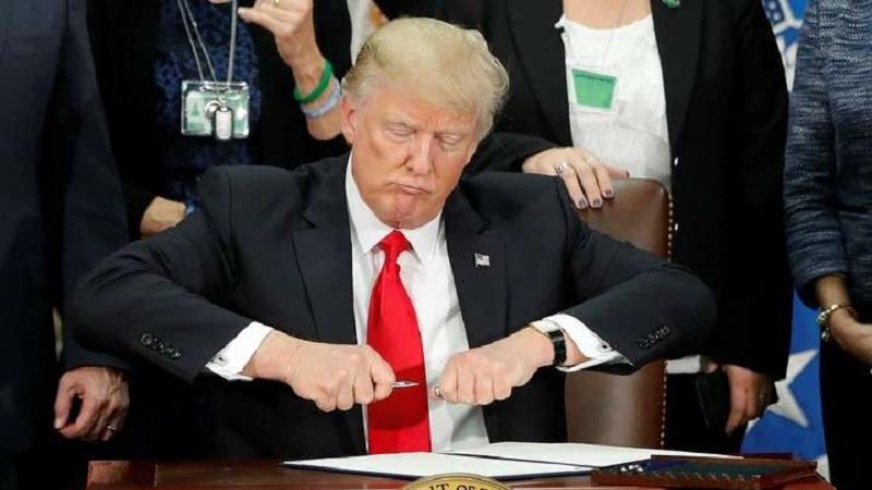 La construcción del muro es una de las polémicas propuestas por Trump durante su campaña electoral. El presidente de Estados Unidos insiste en que de alguna forma México pagará la obra.