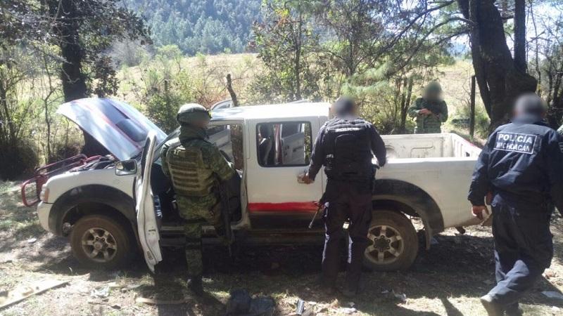 Continúan los operativos de seguridad en la región de Uruapan