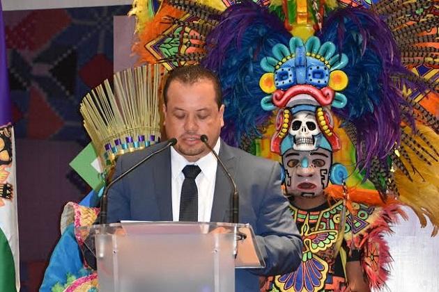 """Juan Figueroa puntualizó que en el Congreso del Estado """"estaremos decididos a mantener el diálogo con todos los Pueblos Originarios y trabajar coordinadamente con el sector académico"""""""