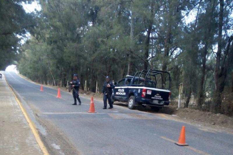Los presuntos implicados, vehículos y objetos se pusieron a disposición de la autoridad competente