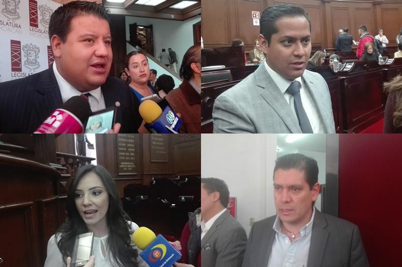 A excepción de los diputados del PRD, PAN, PVEM y Movimiento Ciudadano, la coordinadora del PRI, Adriana Hernández mencionó que si ya hay recurso económico para apoyar a los migrantes, entonces su gira es positiva