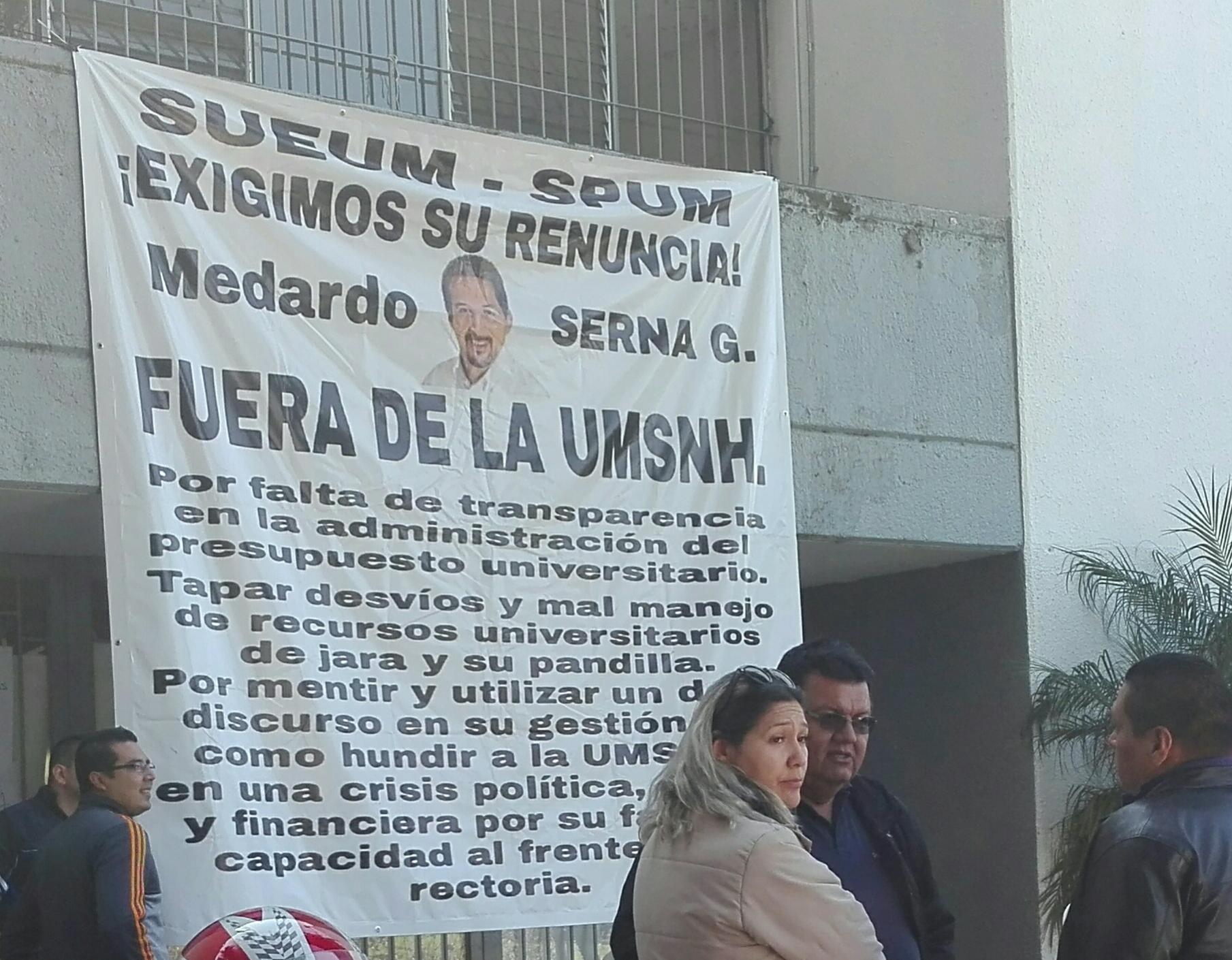 La UMSNH enfrenta un déficit de al menos mil cien millones de pesos