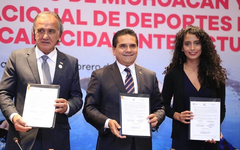 En Michoacán hay condiciones para la organización de cualquier evento de carácter internacional, afirma el mandatario