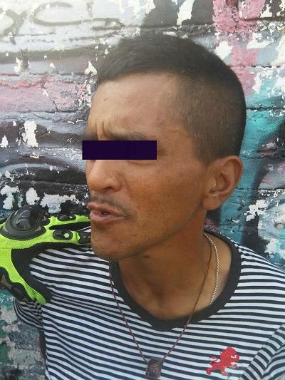 Presunto asaltante detenido en Morelia