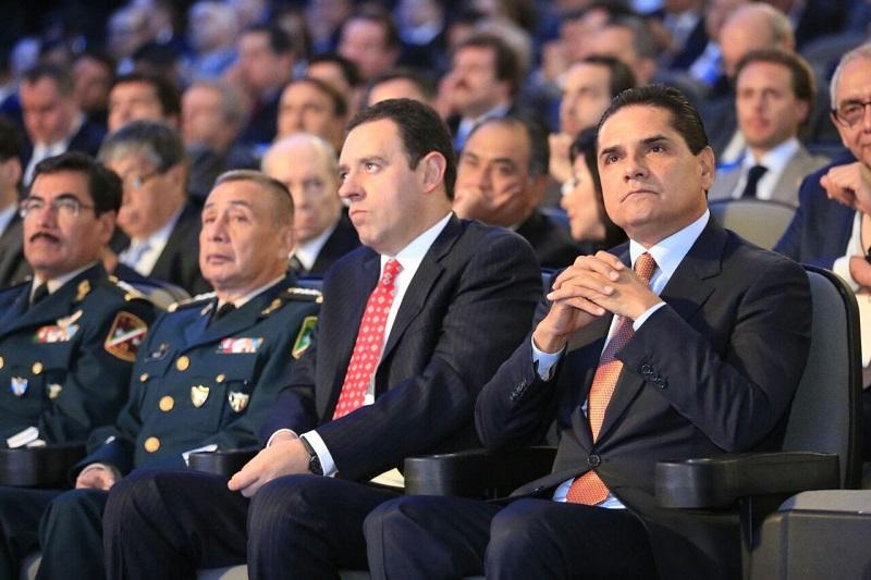 Aureoles Conejo celebra la coincidencia de proyectos con el nuevo gobernador poblano