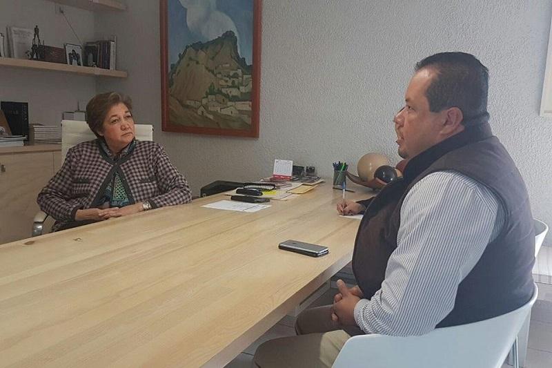 El legislador por el Distrito de Huetamo, sostuvo este miércoles una reunión con la titular de la Secretaria de Cultura en el estado, Silvia Figueroa