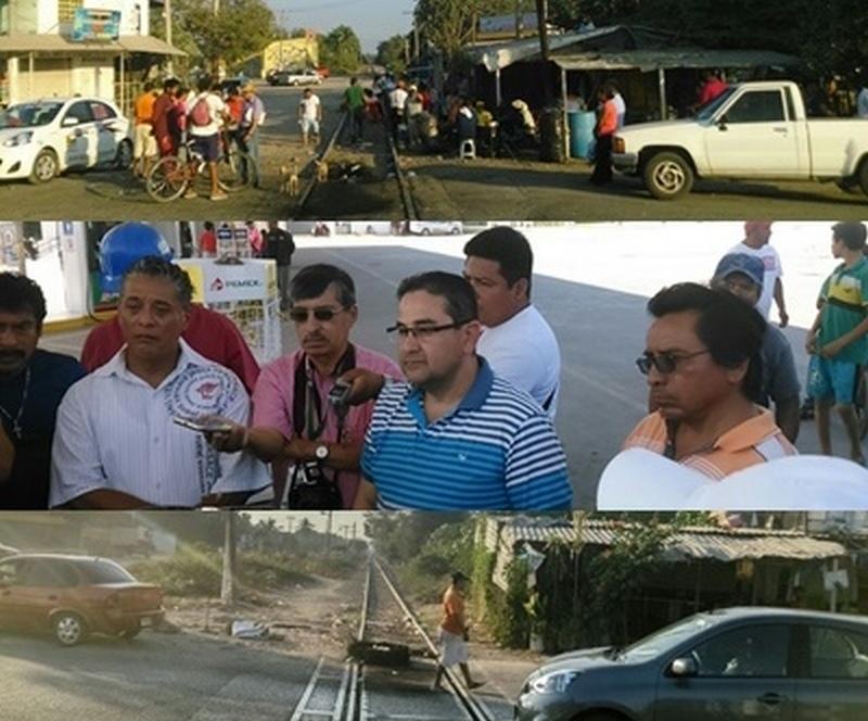 Por ahora las vías del tren en la tenencia de Guacamayas, municipio de Lázaro Cárdenas se encuentran liberadas, debido a una mesa de dialogo que se instaló entre autoridades de Gobierno del Estado y CNTE, la misma mesa revisará, bonos estatales y pagos rezagados, entre otros conceptos