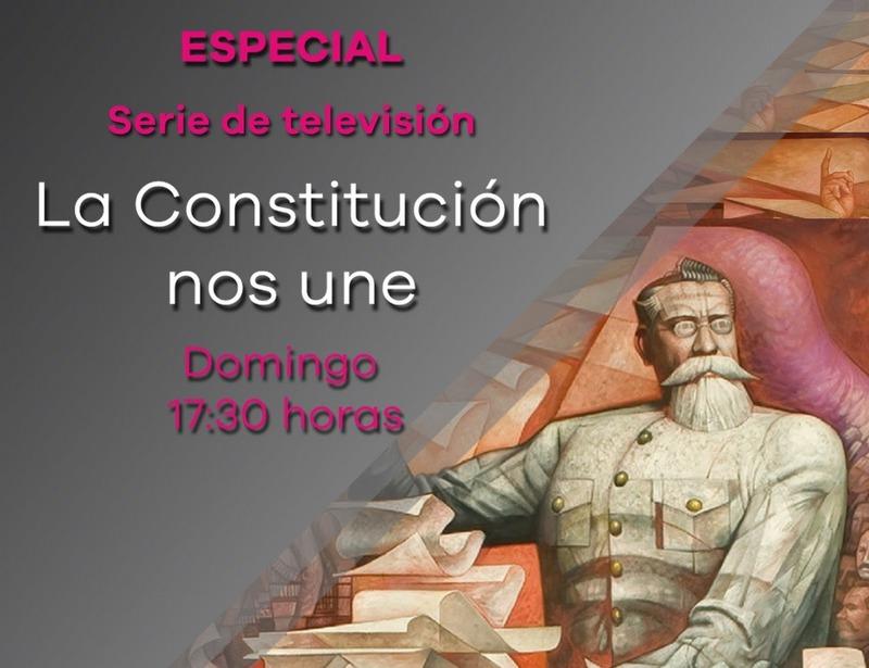 La directora general del medio de comunicación público, Gabriela Molina Aguilar, destacó la voluntad del SMRTV por sumarse a los festejos de los cien años de la Constitución, con la difusión de producciones que recuerdan los hechos y personajes que hicieron posible el movimiento constitucionalista