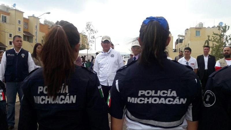 El acto inaugural fue encabezado hoy por los titulares de Seimujer y de SSP, Fabiola Alanís Sámano y Juan Bernardo Corona Martínez, respectivamente