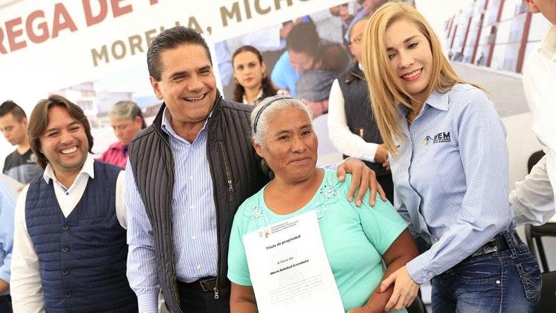 Nuestro reto en Michoacán es que regularicemos a quienes tienen un terreno o una propiedad; señala el mandatario Silvano Aureoles