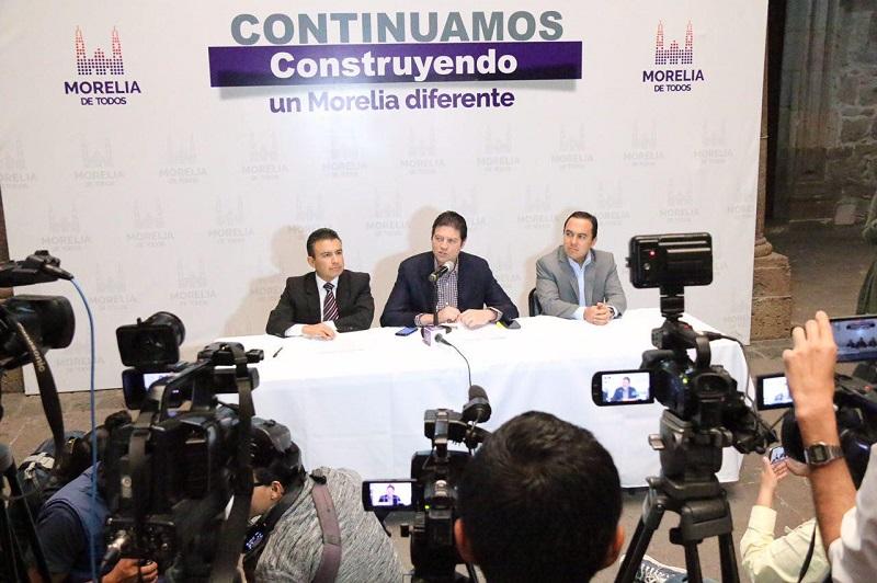Se continúa construyendo un Morelia diferente en la administración municipal que encabeza el Alcalde, Alfonso Martínez y que son palpables en el presente año