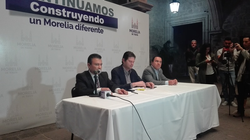Para mayores informes los interesados deberán acudir a las oficinas del ayuntamiento de Morelia, en el Centro Histórico