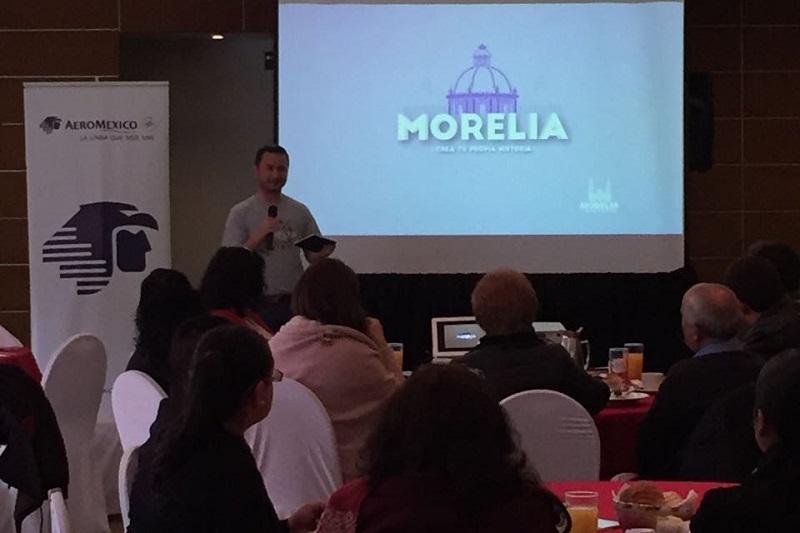 La Secretaría de Turismo de Morelia sostuvo un acercamiento con su homóloga de Tijuana, para que en conjunto se lleve a cabo un intercambio de promoción a través de diversas estrategias que favorezcan a ambas ciudades aprovechando en su totalidad la conectividad aérea con la que cuentan