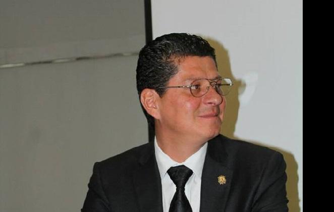 Amante Urbina anunció una serie de proyectos novedosos a implementar durante este año; invitó a los morelianos a visitar el portal web www.colegiodemorelia.org.mx (FOTO: MARIO REBOLLAR)