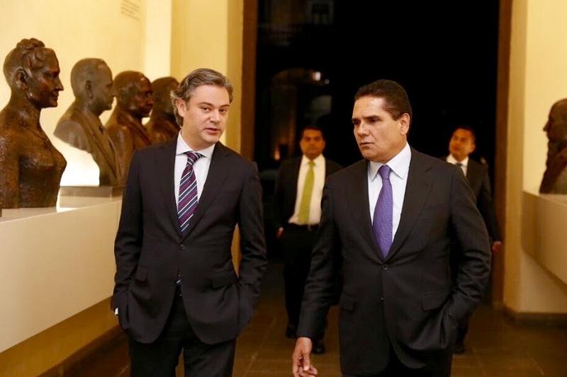 Aureoles Conejo recalcó que es de su interés continuar las acciones conjuntas que permitan que Michoacán avance en los indicadores educativos