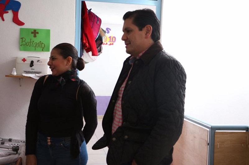 Estos apoyos me generan mucha alegría, soy papá y se lo importante que son nuestros hijos y espero poder seguir aportando mi granito de arena para que todos estos pequeños estén en el mejor ambiente posible: Núñez Aguilar