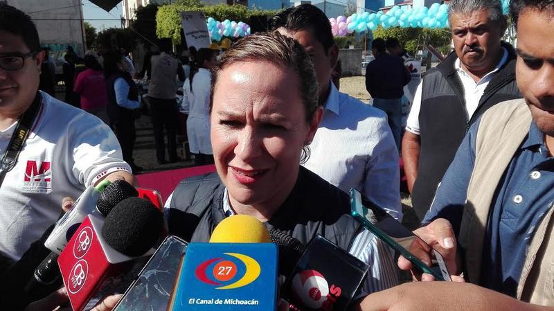 Rocío Beamonte Romero titular del DIF Michoacán dijo que las afectadas pueden acercarse al departamento jurídico y de recursos humanos para ver que propuestas hay respecto al tema de sus despidos