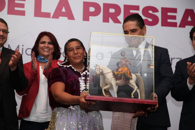 La Presea Eréndira 2017 será entregada por el Gobernador Silvano Aureoles Conejo en el marco de la conmemoración del Día Internacional de la Mujer, el 8 de marzo próximo