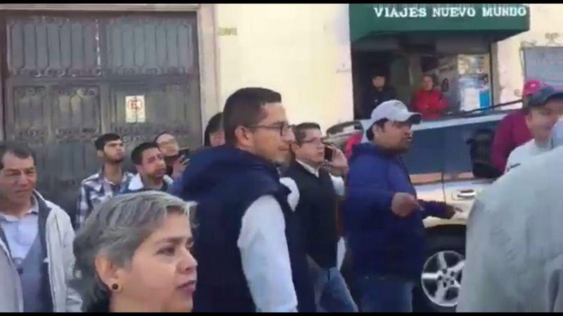 El Consejo General de Huelga solicitará que el coordinador de Prensa de la Rectoría, Eduardo Nolasco no se presente más a las reuniones, por mal informar con sus boletines