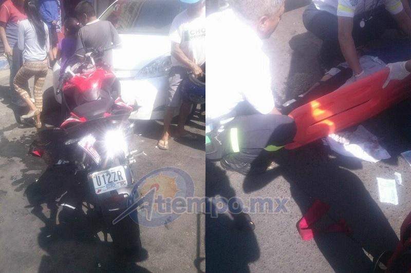 El motociclista, resultó lesionado y fue atendido por paramédicos que llegaron en una ambulancia 25 minutos después, así como por elementos de la Policía Michoacán