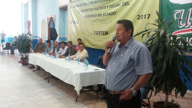 Maldonado Torres dijo que hay un Gobierno del Estado abierto y que todos los sectores sociales están siendo atendidos, en los diferentes rubros que requieren y el transporte no es la excepción