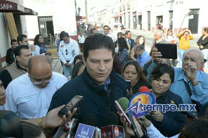 Martínez Alcázar indicó que todas las obras que se realizan en su administración no son sólo para que la ciudad se vea bonita, sino que son incluyentes (FOTO: MARIO REBOLLAR)