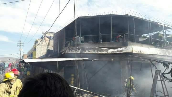 La emergencia fue atendida por Policía Michoacán, Cruz roja, Rescate, Bomberos y Protección Civil de Zamora y de Jacona (FOTO: EL DESPERTAR)