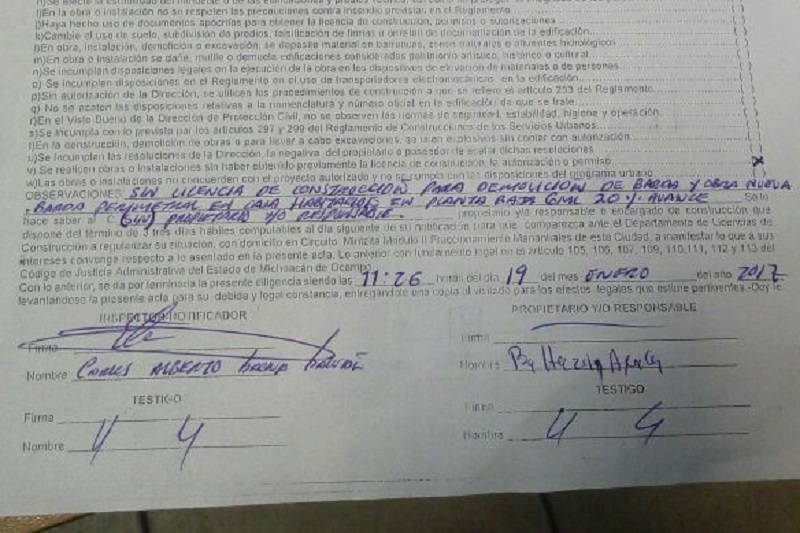 Después de la clausura, el 19 de enero de este año, los inspectores municipales no se han vuelto a parar en el lugar, pese a la denuncia de los vecinos