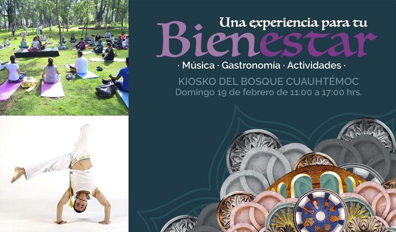 En este evento los asistentes podrán tener la experiencia de una gastronomía alternativa para la salud, música y diversas actividades como Yoga, Zamba, Taichí y capoeira