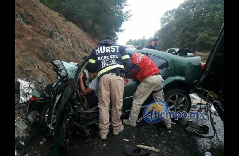 Se especula que una de las causas del accidente pudo ser la intensa lluvia que se registraba en la zona (FOTOS: FRANCISCO ALBERTO SOTOMAYOR)