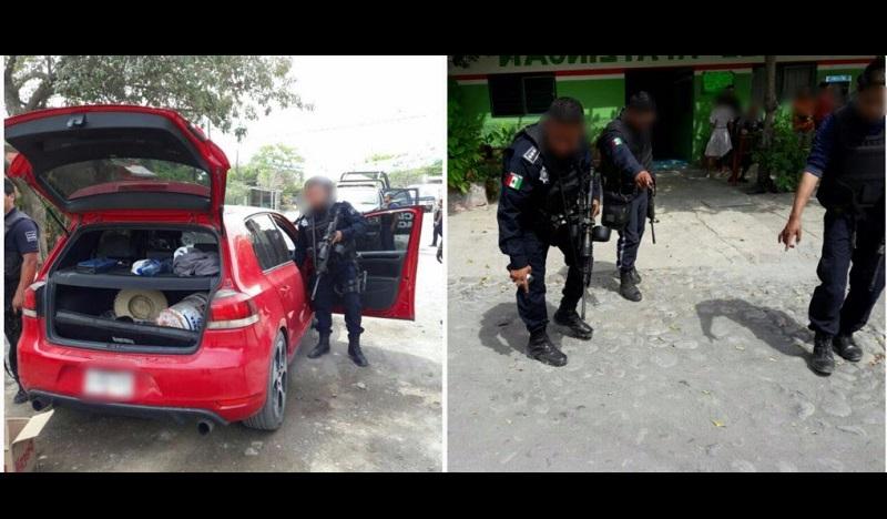 En otra acción, sujetos armados dispararon a agentes estatales y huyeron con dirección a Cenobio Moreno; hay un policía herido