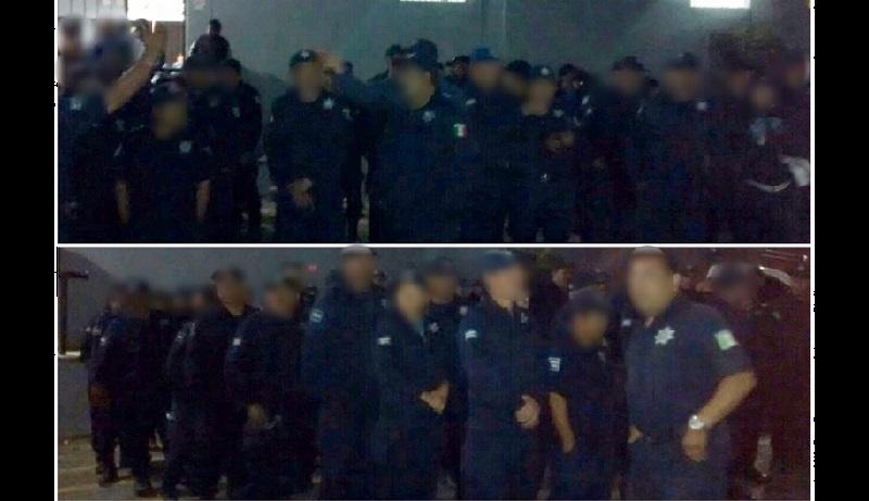 Las actuaciones de los 152 agentes municipales ante la PGJE concluyeron en los primeros minutos de este domingo, por lo que ya pudieron reintegrarse a sus labores