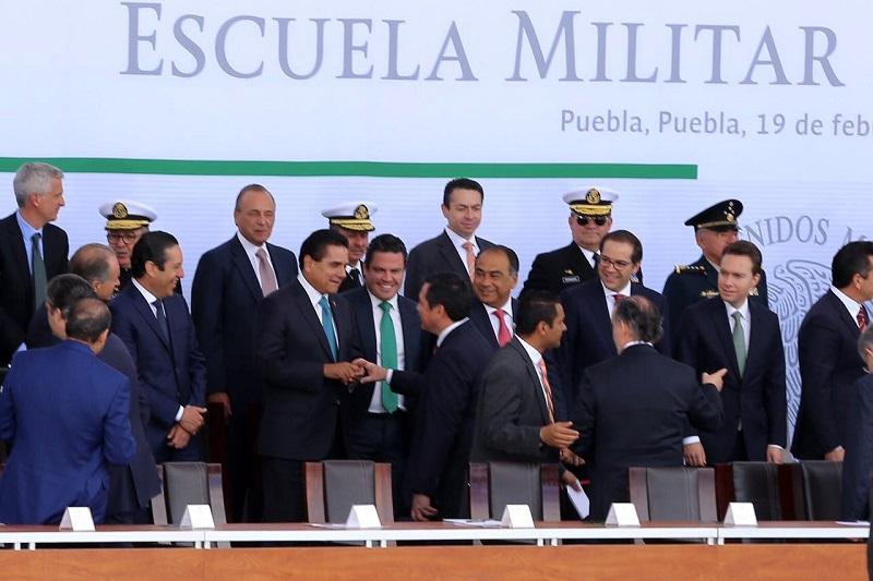 Las Fuerzas Armadas de México de manera desinteresada contribuyen al bien común de las y los ciudadanos, destaca el mandatario estatal