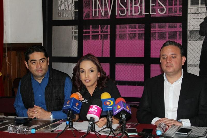En colaboración con la asociación Reinserta un Mexicano la diputada informó que se ha presentado por primera vez en una legislatura local una iniciativa a favor de los derechos de los niños que viven con sus madres en un centro de readaptación social
