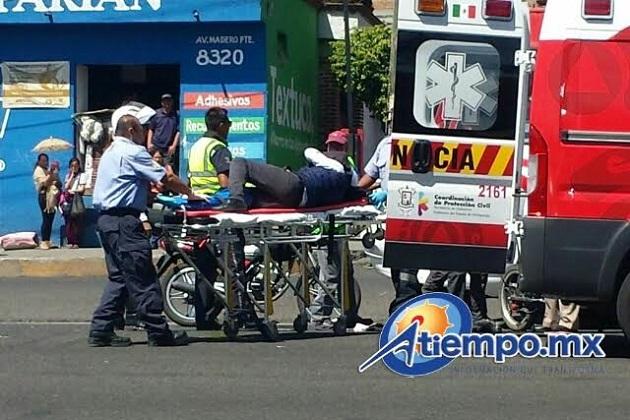 Cada vez más frecuentes los accidentes en la zona de la antigua carretera a Guadalajara (FOTO: FRANCISCO ALBERTO SOTOMAYOR)