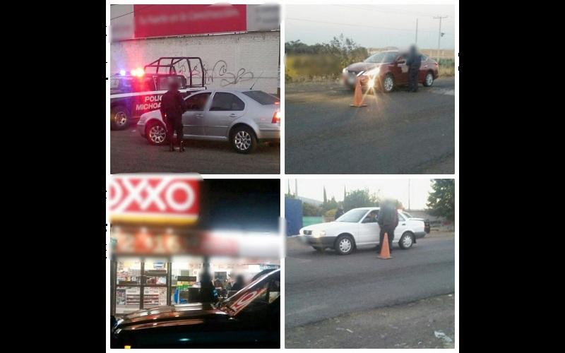 La SSP continúa con acciones para terminar con los remanentes de la delincuencia organizada y así brindar paz y estabilidad social a los michoacanos